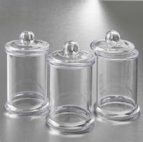 Clear Acrylic Apothecary Jar With Lid